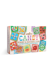 Eeboo Candy Memory & Matching Game - Front cropped