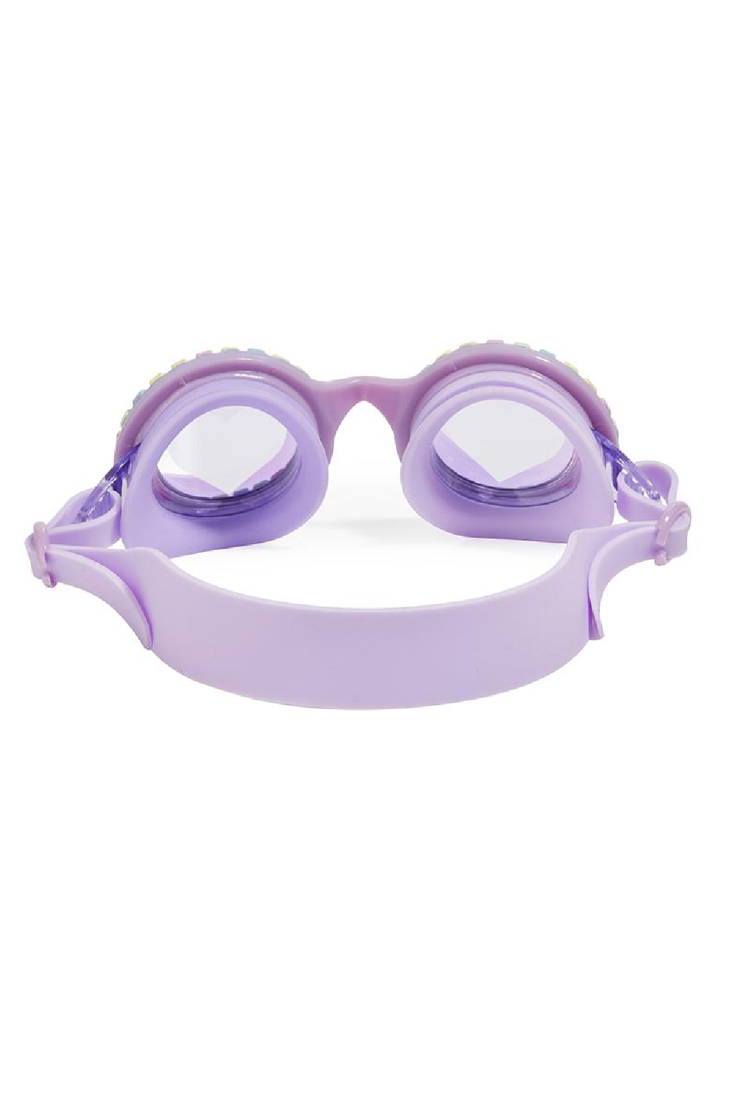 Bling20 Candy Necklace Swim Goggles - Front Full Image