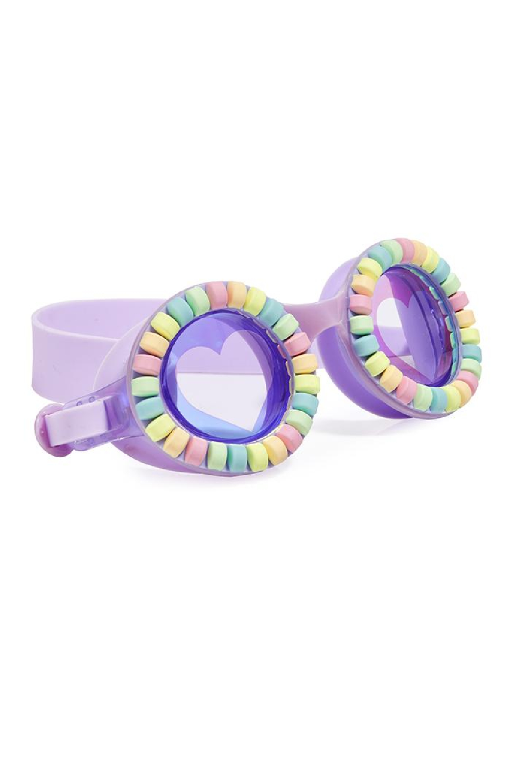 Bling20 Candy Necklace Swim Goggles - Front Cropped Image