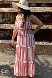 Flying Tomato Candy-Red Tassel Stripes - Front cropped