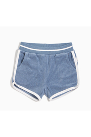Miles Baby Candy Sky Terry Soft Shorts - Product Mini Image