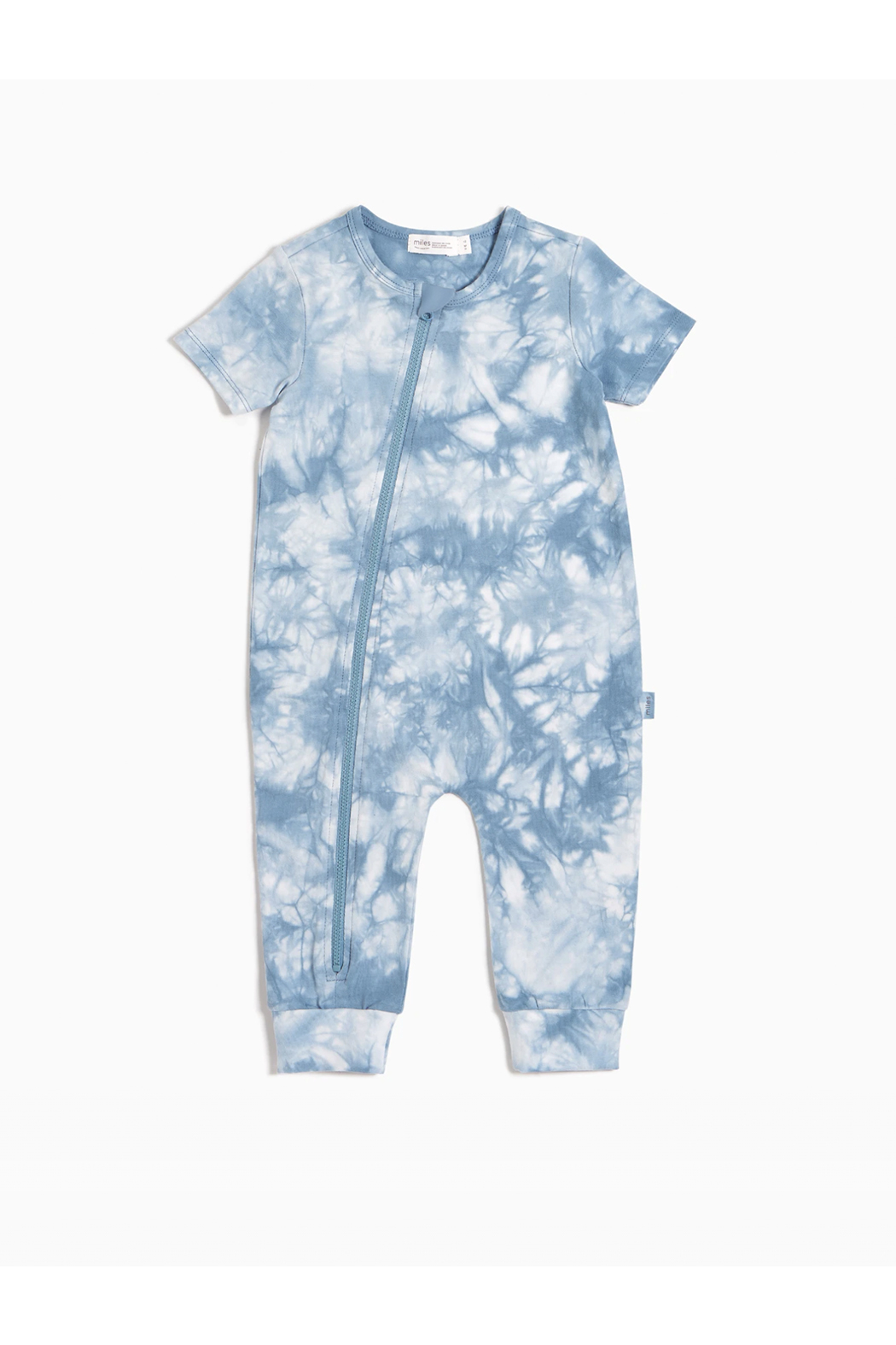 Miles Baby Candy Sky Tie-Dy Zip Sut - Side Cropped Image