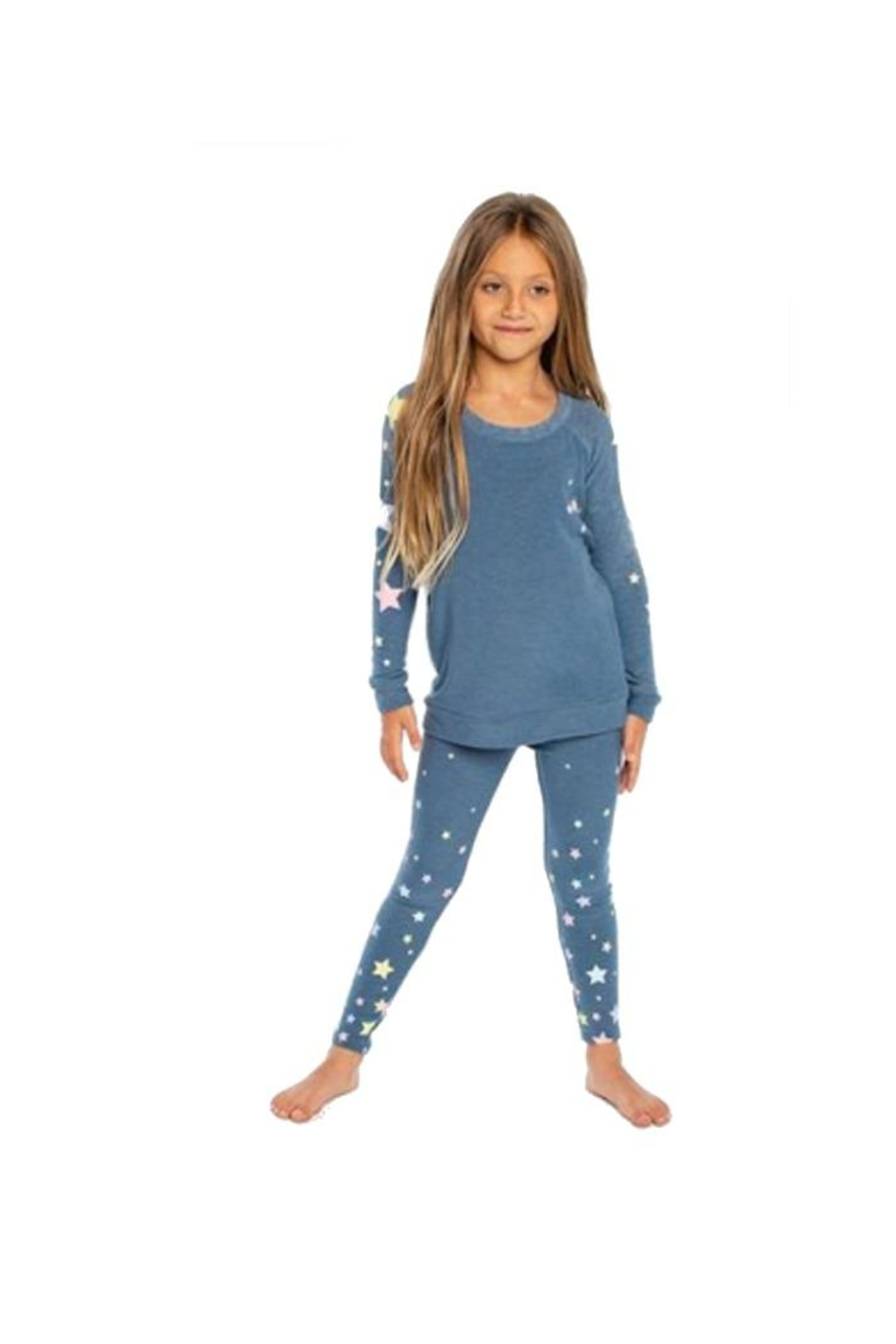 Chaser Candy Stars Sweatshirt - Front Full Image