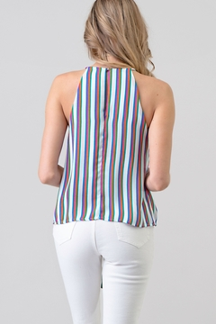 Hashttag Candy Stripe Tank - Alternate List Image