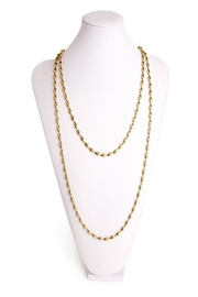 Candy Shop Vintage Rice Bead Necklace - Front cropped