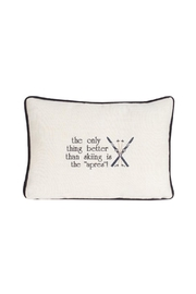 canfloyd Apres Pillow - Front cropped