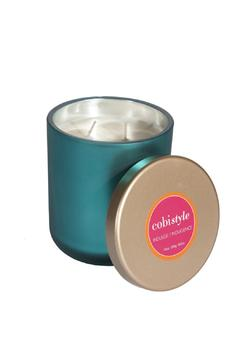 Shoptiques Product: Candle Jar Teal