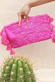 Brunna Co Canggu Woven Clutch - Product Mini Image