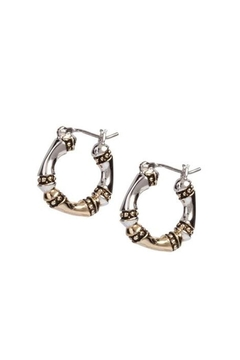 JOHN MEDEIROS Canias-Collection Three-Row-Hoop Earrings - Alternate List Image