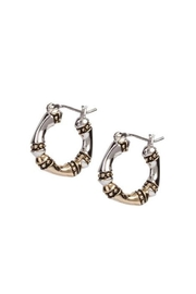 JOHN MEDEIROS Canias-Collection Three-Row-Hoop Earrings - Product Mini Image