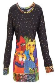 Laurel Burch Canine T Shirt - Front cropped