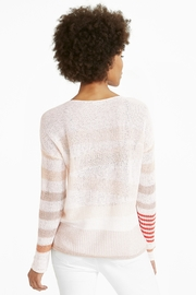 Nic + Zoe Cannon Sweater - Front full body