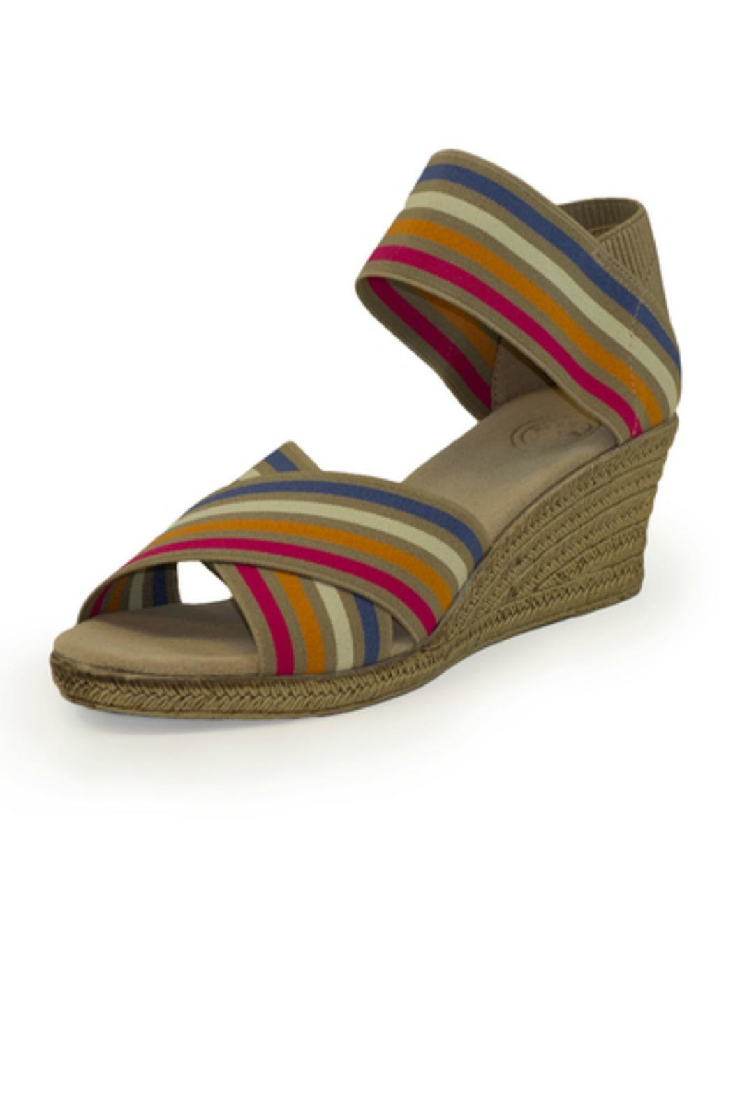 CHARLESTON Cannon Wedge Sandal - Front Cropped Image