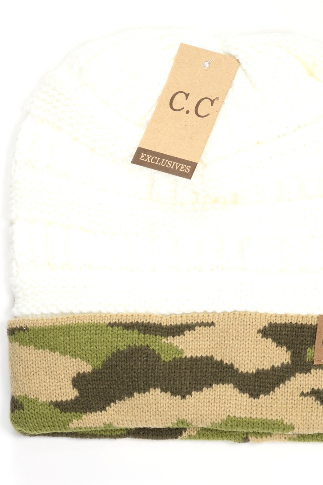 CC Beanie Cano  Hat - Front Cropped Image