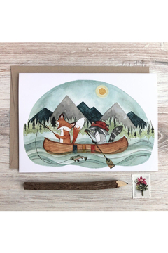 Little Pine Artistry Canoe Adventure Card - Product List Image