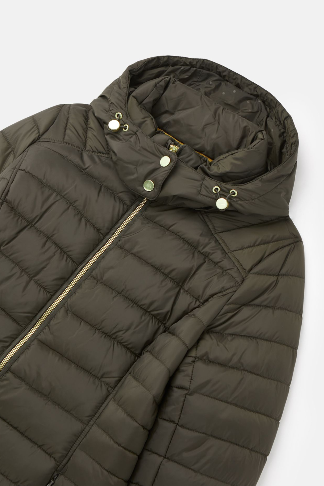 Joules Canterbury Long Luxe Padded Jacket - Side Cropped Image