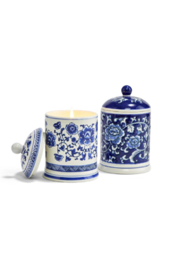 Two's Company Canton Chinoiserie Candle - Alternate List Image