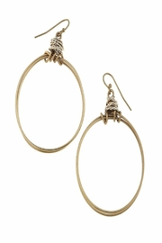Canvas Artisan Wire Hoop - Side cropped