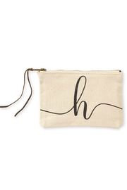 Mud Pie Canvas Cosmetic Bag - Other