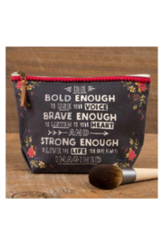 Natural Life Canvas Pouch Be Bold - Product Mini Image