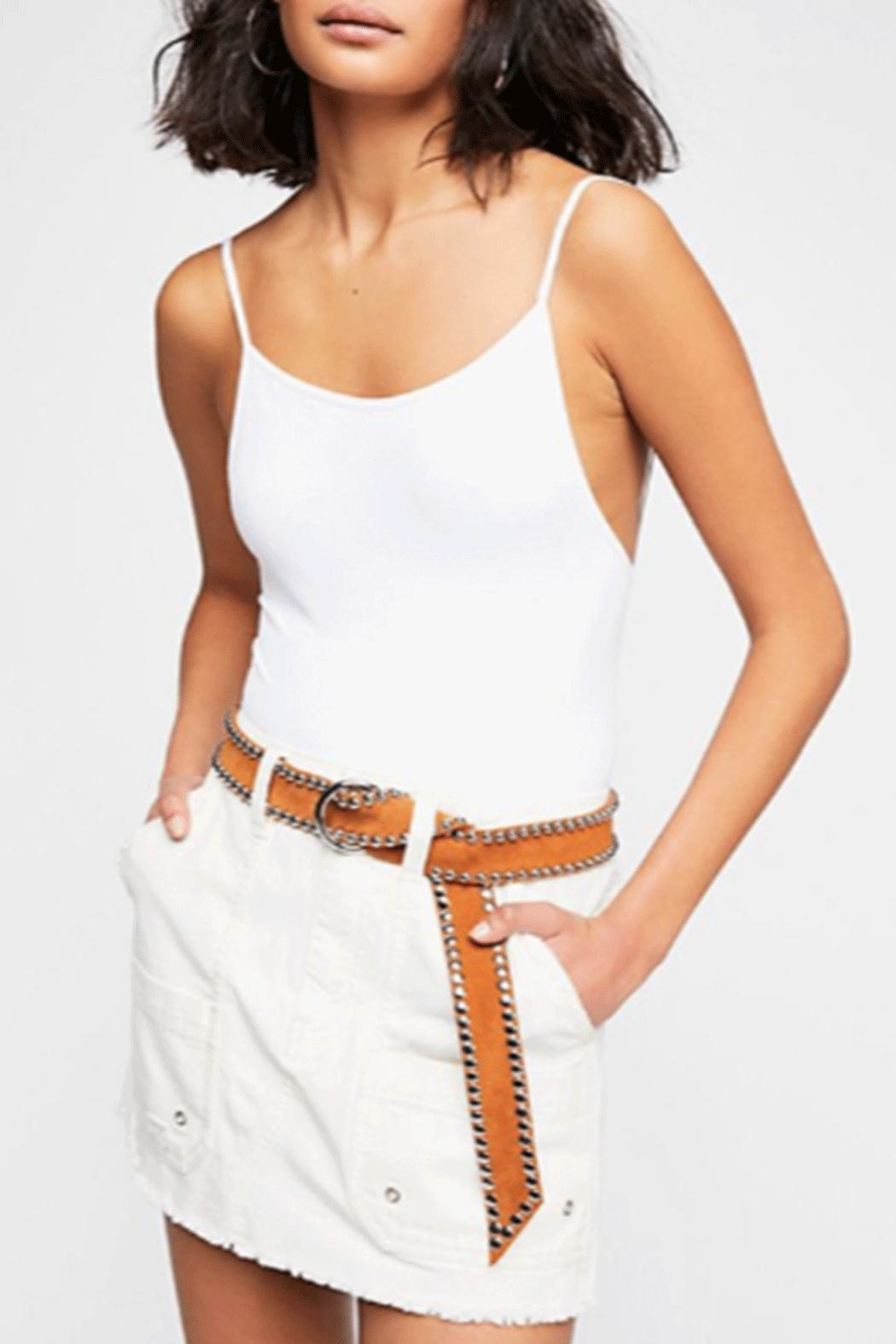 Free People Canvas Relaxed Skirt - Main Image