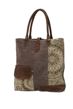 Myra Bags Canvas Tote Bag - Product List Image