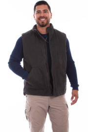 Scully Canvas Vest - Front cropped