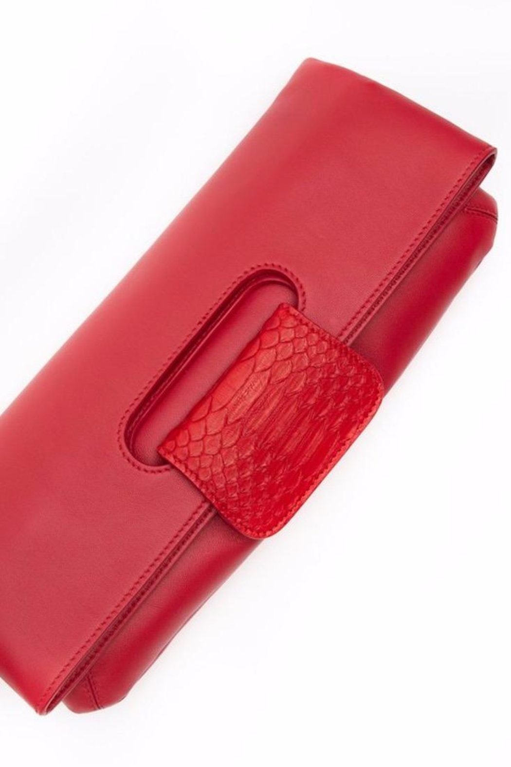 Canvas & Hyde Florentine Folding Clutch - Front Cropped Image