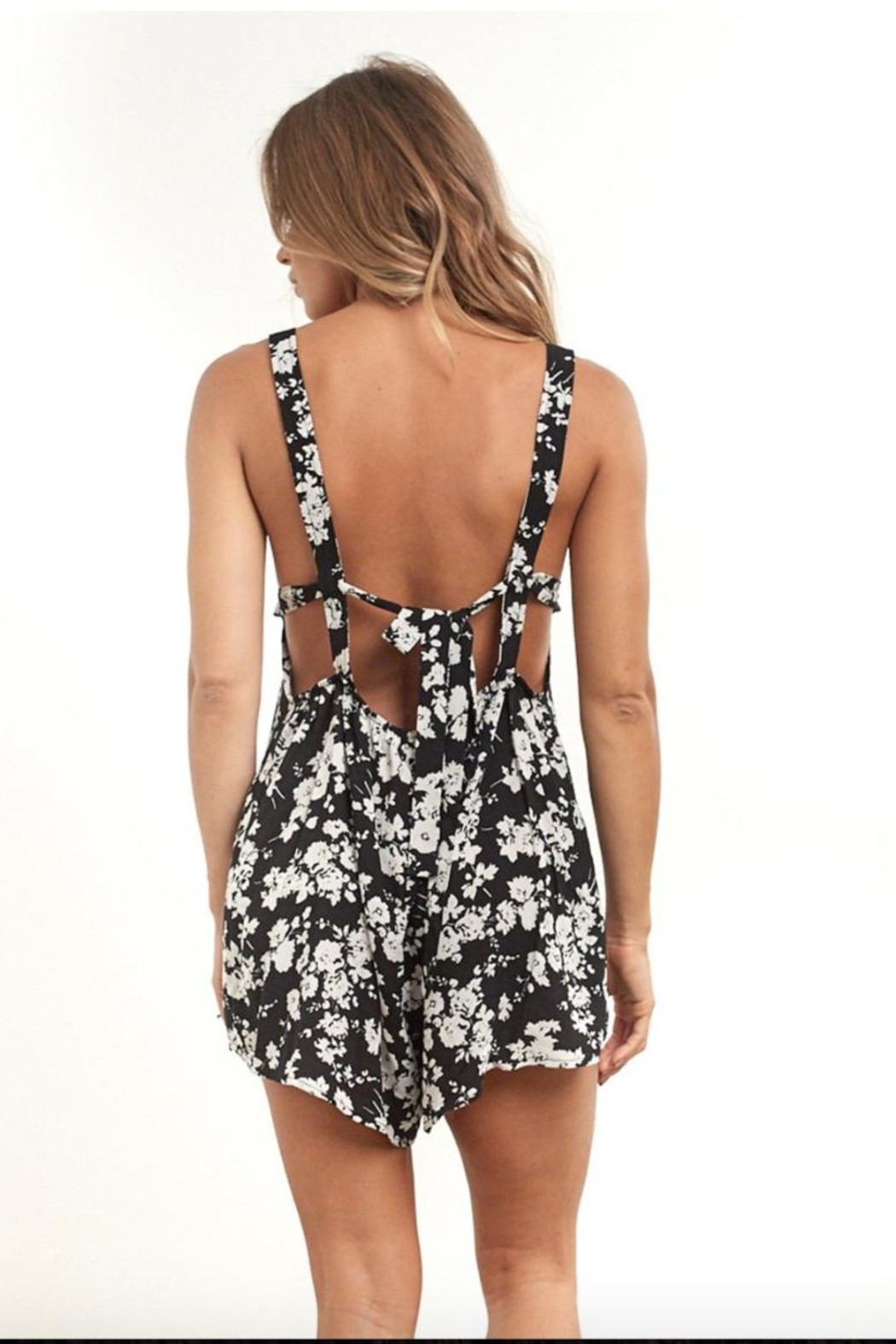 Saltwater Luxe Canyon Romper - Front Cropped Image