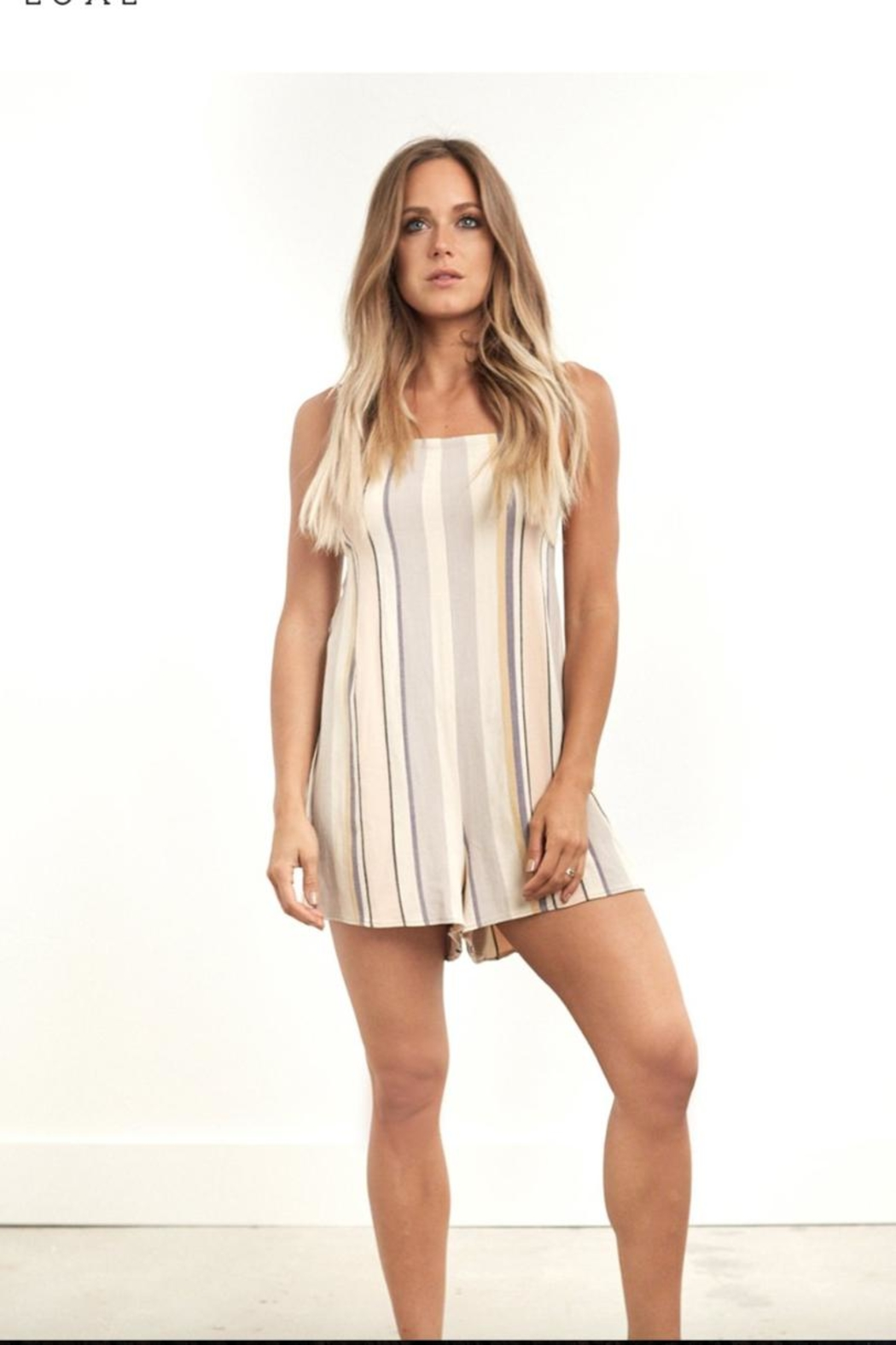 Saltwater Luxe Canyon Romper - Main Image