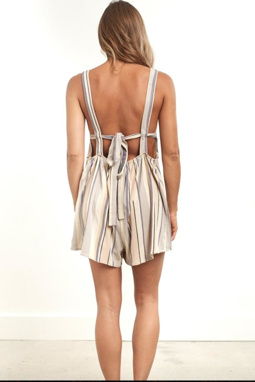 Saltwater Luxe Canyon Romper - Front Full Image