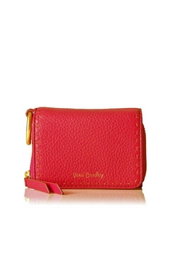 Vera Bradley Canyon Sunset Mallory Leather Card Case - Product List Image