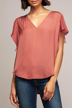ALB Anchorage Cap Sleeve Blouse - Alternate List Image
