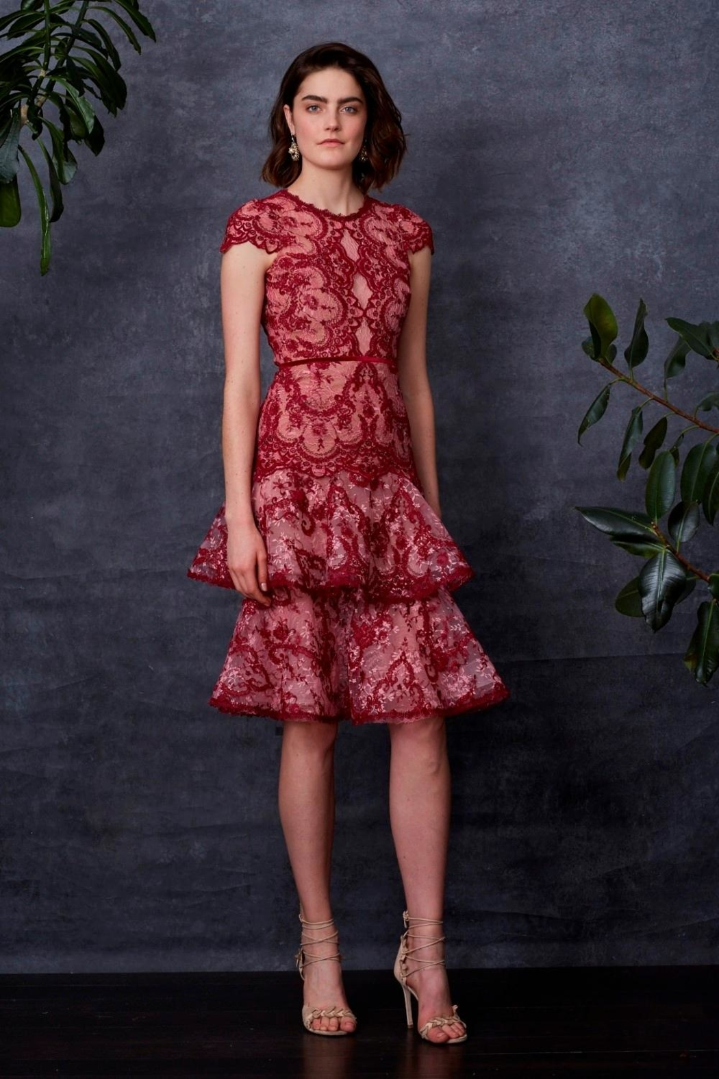 Notte by Marchesa Cap Sleeve Dress - Main Image