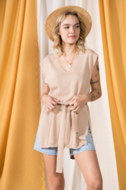 Very J  Cap Sleeve Tunic - Product Mini Image