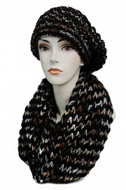 Cap Zone Beret & Scarf-Set - Front cropped