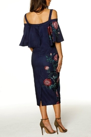 Pasduchas Cape Midi Dress - Side cropped