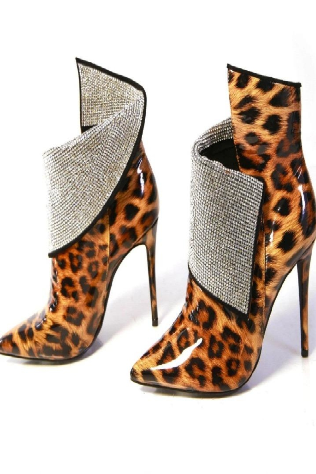 Cape Robbin Martini Leopard Stiletto High Heeled - Front Cropped Image