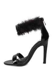 Cape Robbin Faux-Fur Ankle Stiletto - Product Mini Image