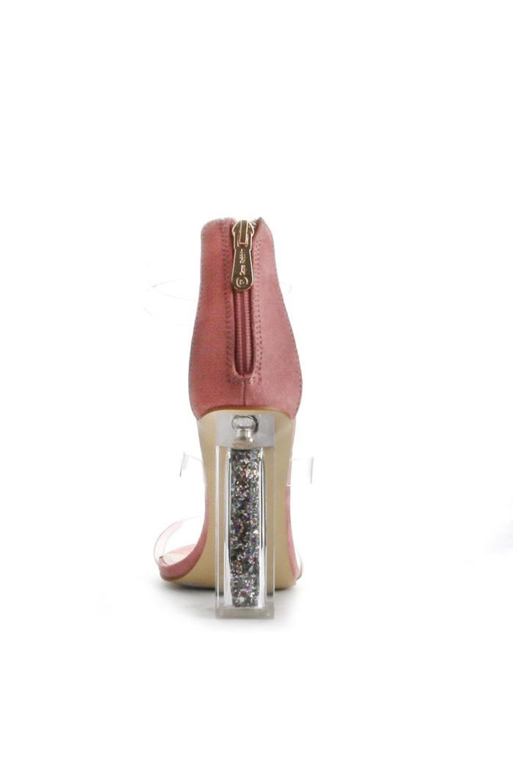 Cape Robbin Maria Pink Strappy Heel - Side Cropped Image
