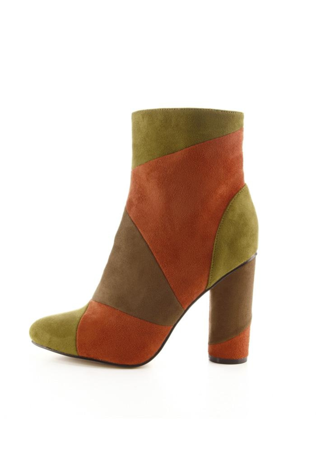 Colorful High-Cut Booties