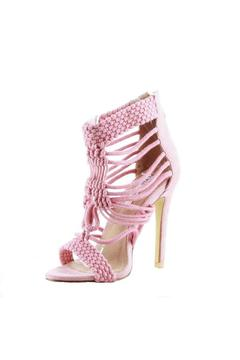 Cape Robbin Unane Pink Pump - Alternate List Image