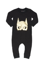 Rock Your Baby Caped Crusader Playsuit - Front cropped