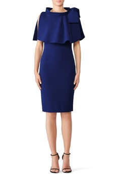 Badgley Mischka Capelet Day Dress - Product List Image