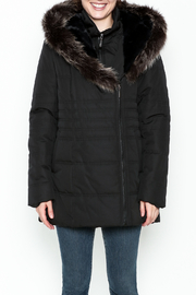 Capital Garment Quilted Coat - Front full body