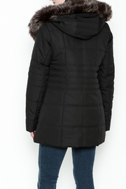 Capital Garment Quilted Coat - Back cropped