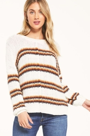 White Crow  Capitan Roll-Knit Sweater - Front cropped