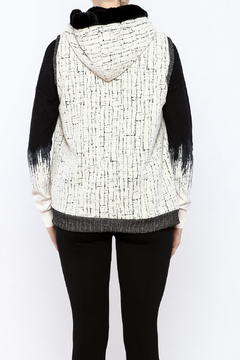 Shoptiques Product: Hooded Vest With Pockets