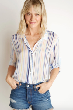 ba43ca2cae ... Bella Dahl Capri Button Down - Product List Image
