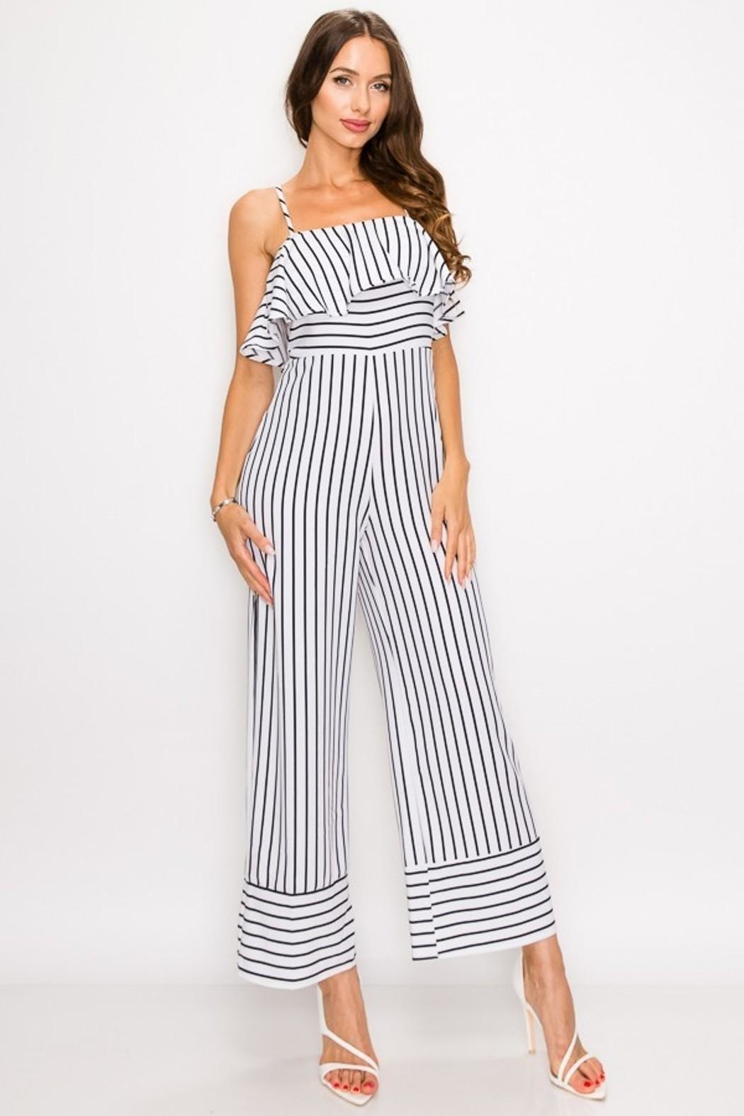 1dfddeb0a Unknown Factory Capri Jumpsuit from Raleigh by Athleisure — Shoptiques